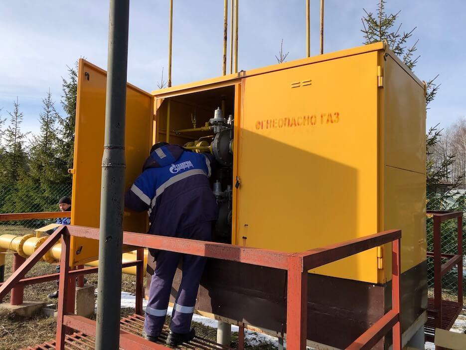 Проведено обслуживание газового оборудования «Романовского Парка»