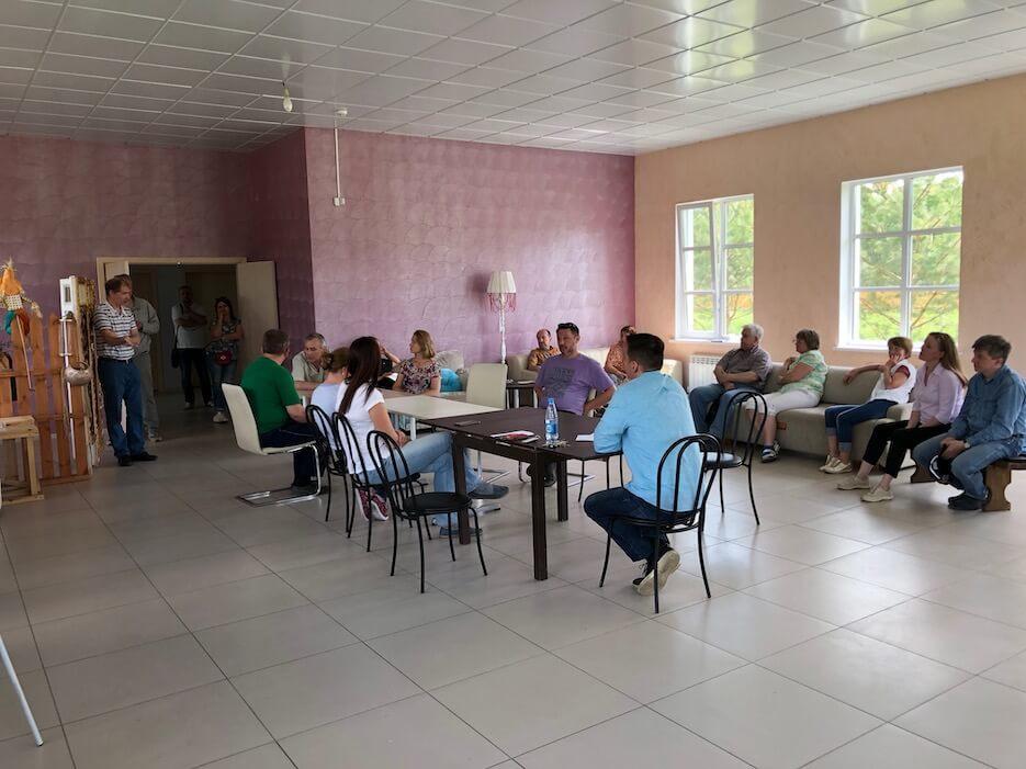 В «Романовском Парке» прошла встреча жителей с представителями эксплуатирующей компании