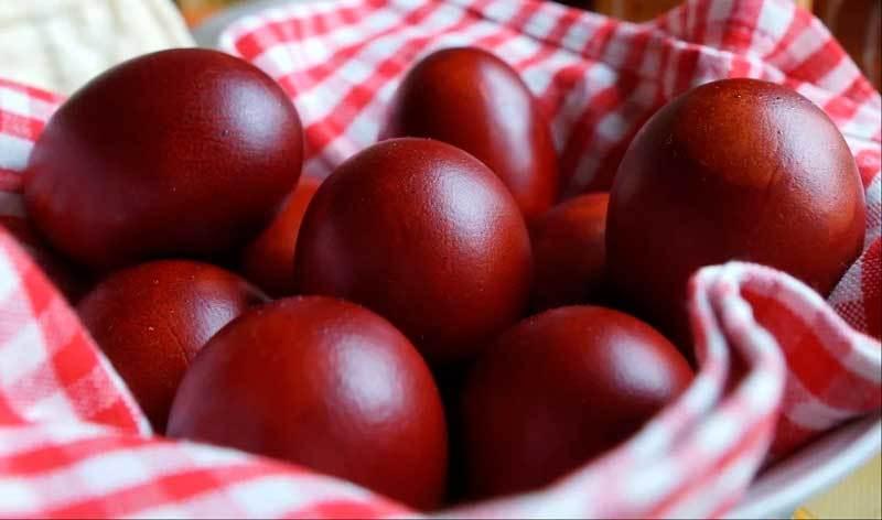 Когда перед Пасхой красить яйца и варианты оформления