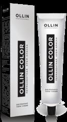 """OLLIN PROFESSIONAL  PERMANENT COLOR CREAM """"COLOR""""  Перманентная крем-краска для волос.  Таблица палитры цветов."""