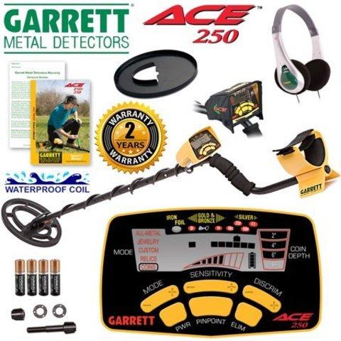 Металлоискатели серии Garrett ACE: модели ACE 200, 300 и 400.