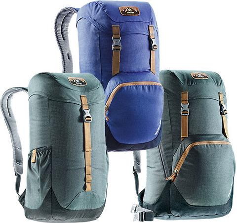 Обзор рюкзаков Deuter Walker 16, 20, 24