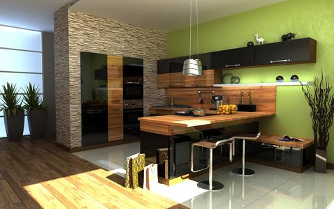 Выбираем кухонную мебель.