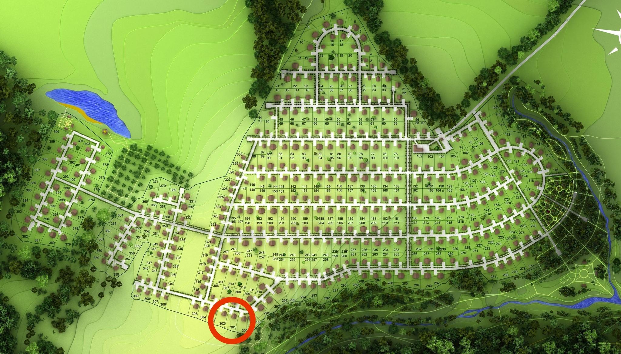 Выставлен на продажу участок 5 гектаров с коммуникациями под строительство усадьбы