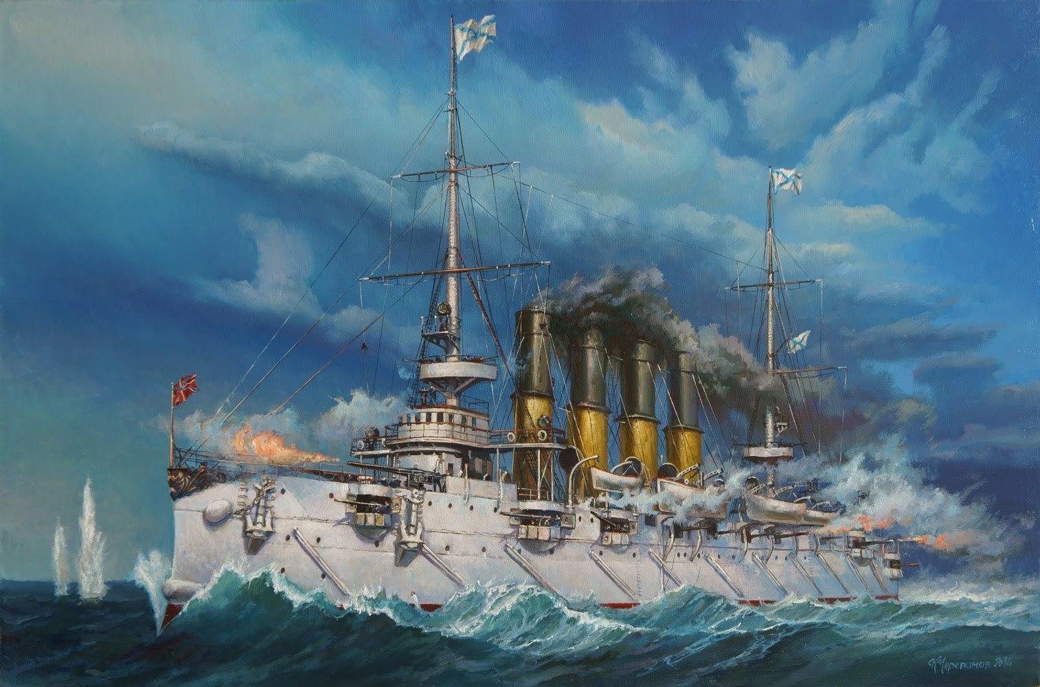 Легенда русского флота - бой у Чемульпо