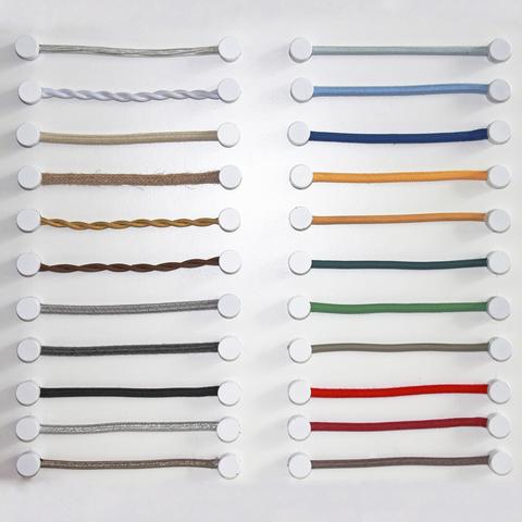 Провода с текстильной оплеткой