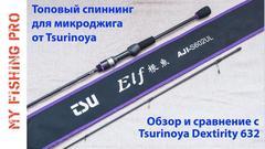 Обзор Спиннинга Tsurinoya ELF S602UL.