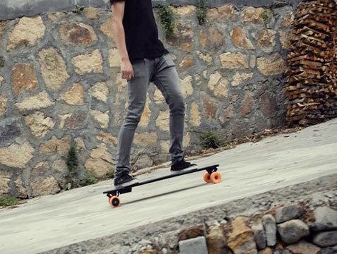 STARY - самый легкий в мире электрический скейтборд с мотором