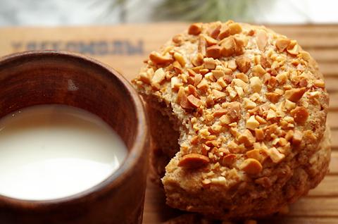 Арахисовое цельнозерновое печенье
