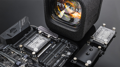Водоблок от EK Water Blocks для процессоров AMD Threadripper