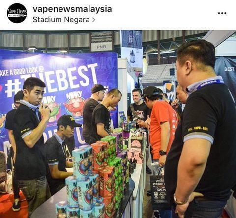 Обзор на жидкость для электронных сигарет MNKY FLAVA (Малайзия)