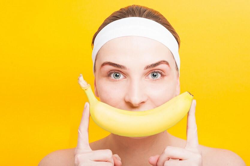 Три рецепта для красоты на основе банана.