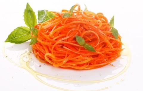 Ширатаки HoReCa (спагетти с морковью).