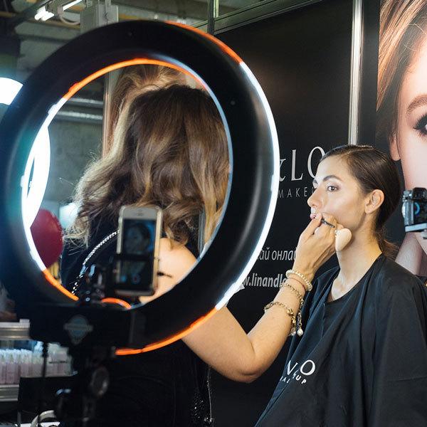 Кольцевая лампа — профессиональное приспособление визажиста и фотографа