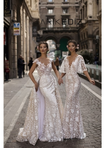 Свадебная мода от Tarik Ediz коллекция 2019