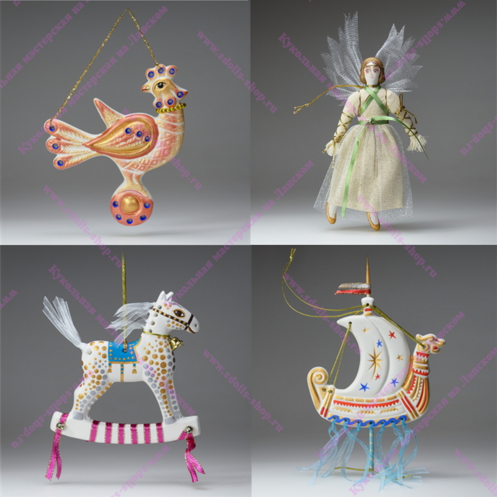 Обновление серии плоских фарфоровых игрушек