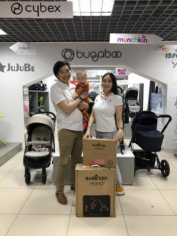 Поздравляем победителя розыгрыша прогулочной коляски Baby Zen YoYo+