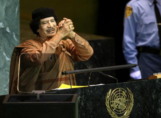 Муаммар Каддафи: последний политик