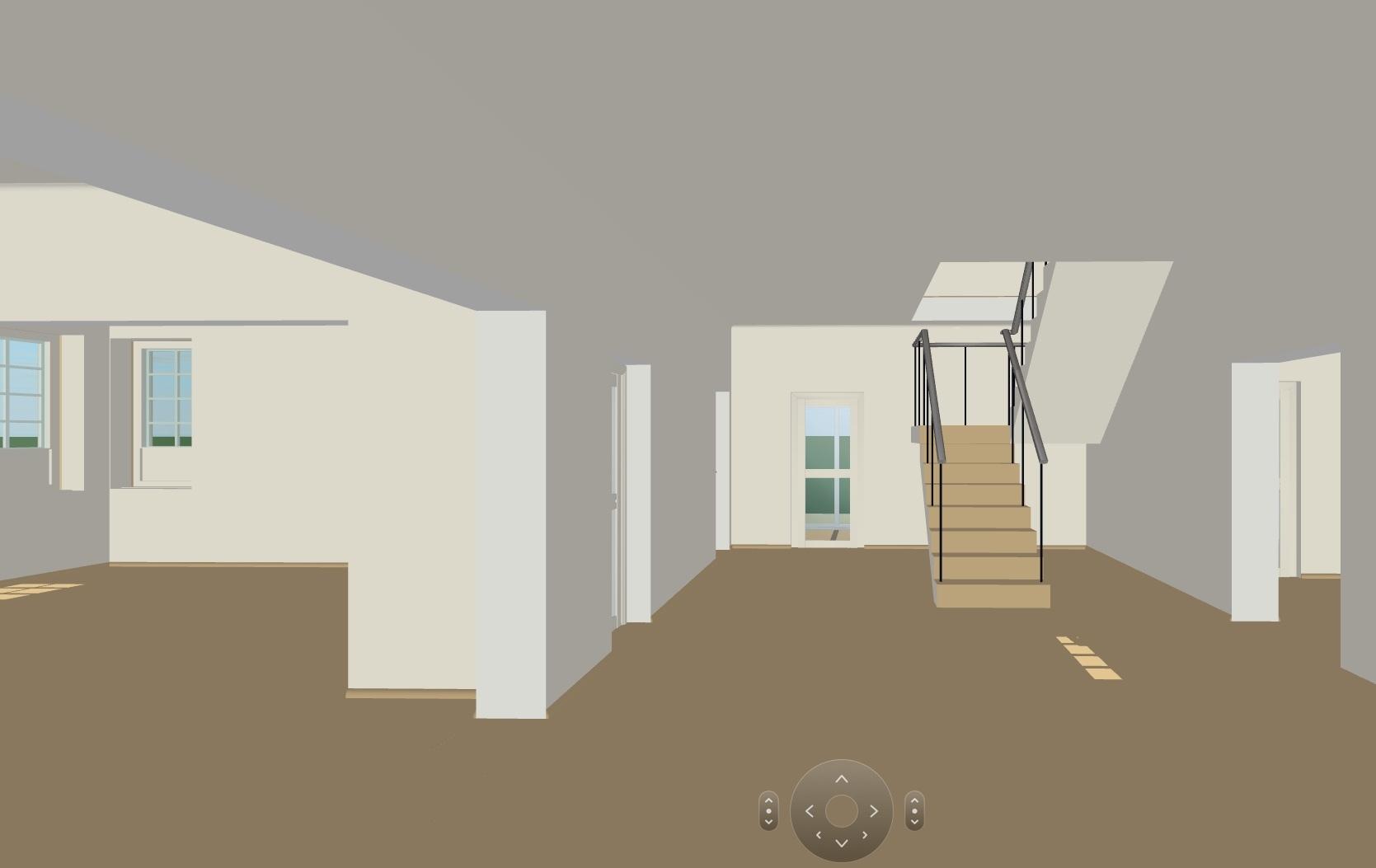 Виртуальная прогулка по будущему дому