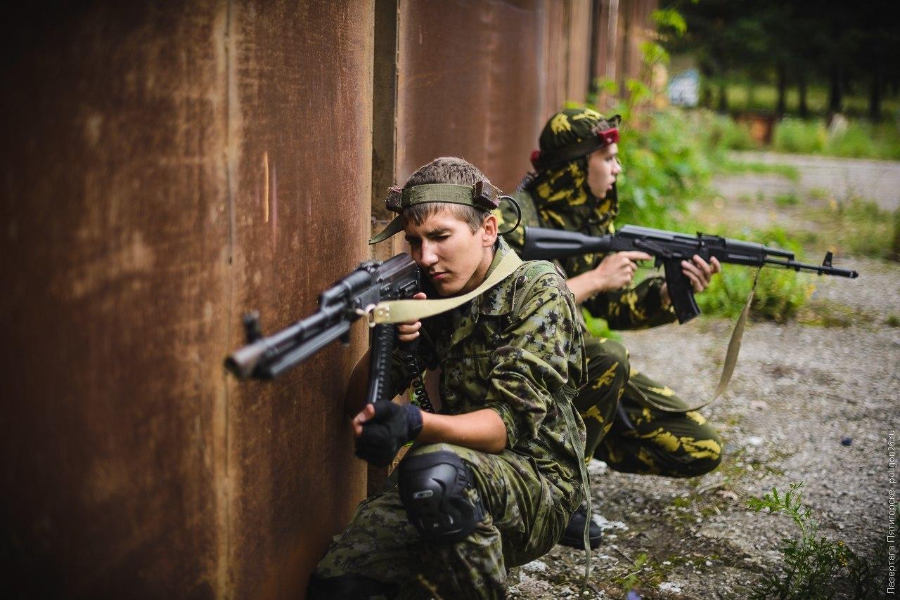 Победное шествие военизированных игр для взрослых
