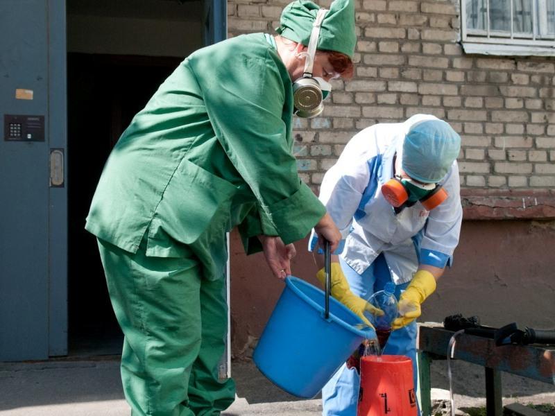 Чем обрабатывать поверхности для дезинфекции