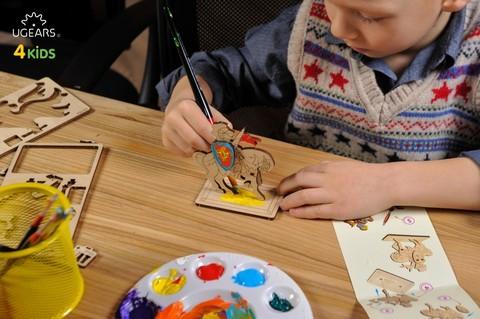 Деревянные 3D конструкторы – Творчество, хобби, детское развитие
