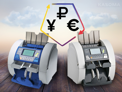 Новое обновление сортировщиков банкнот SBM