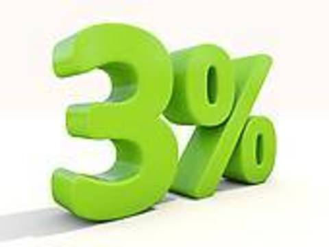 Скидка 3% за регистрацию