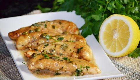 Рецепт куриной грудки с бальзамическим соусом, томатами, базиликом и моцареллой