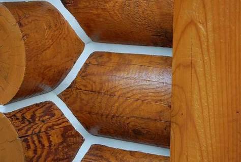 Герметизация швов в деревянных домах