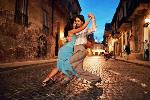 Жгучее, страстное, вечное танго
