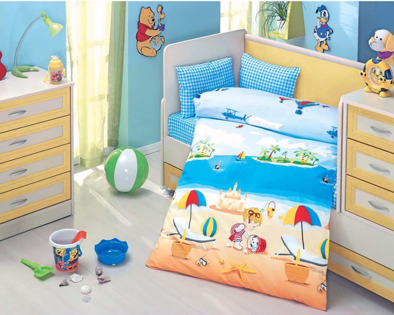Материалы, подходящие для постельного белья для новорожденных