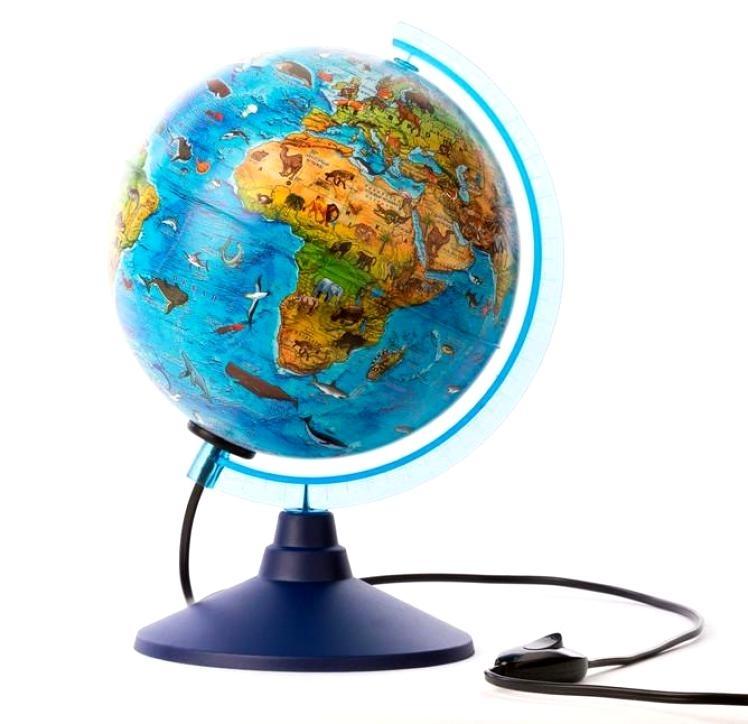 Новинка детский глобус диаметром 25 см от компании Глобен