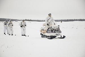 Рейд на снегоходах