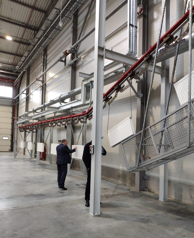 «Лига Трех Систем» приняла участие в официальном открытии завода Kermi в России