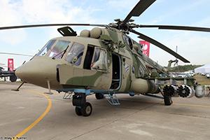 Штурмовик  Ми-8АМТШ-ВН готов к испытаниям