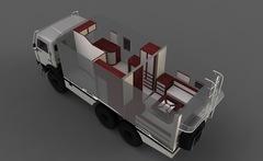Создание автономного дома на колесах на базе КамАЗ