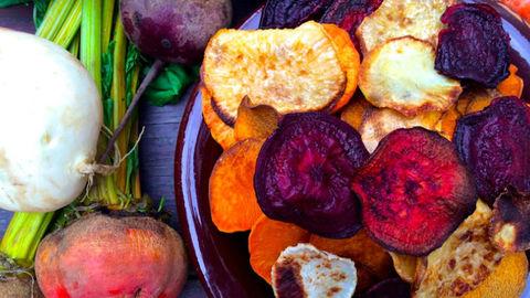 В овощных чипсах может содержаться опасное количество сахара