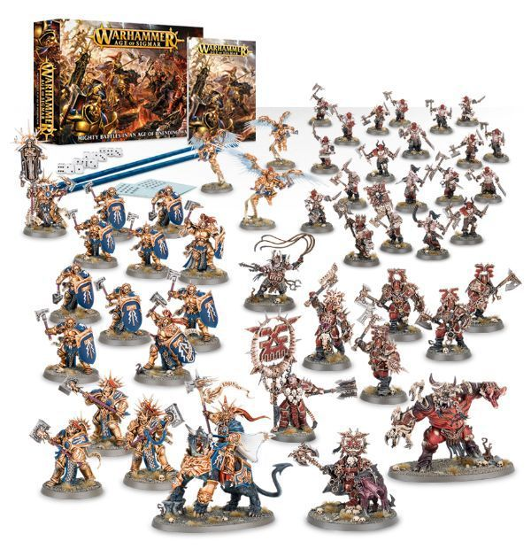 Стартовый набор Warhammer Age of Sigmar уже у нас!