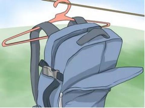 Как стирать или очищать рюкзак?