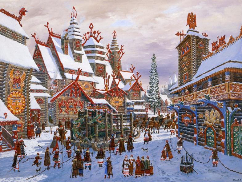 Москва средневековая