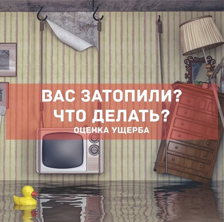 Что делать, если вас затопили