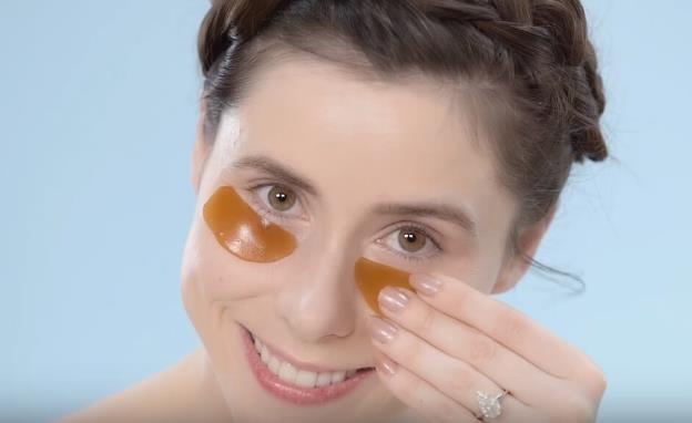 Как сделать натуральные патчи для глаз в домашних условиях.