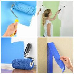 Как правильно произвести покраску стен?