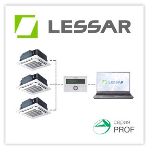 Новый модельный ряд двух и четырехтрубных кассетных фэнкойлов LESSAR