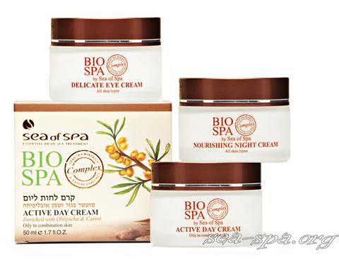 Уход за жирной и комбинированной кожей с продуктами Sea of SPA линия Bio SPA