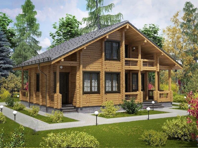 Дома шале — архитектурные особенности