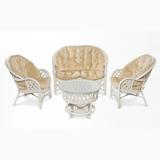 Белая плетеная мебель из натурального ротанга!