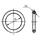 ГОСТ 9833-73 Кольца резиновые уплотнительные круглого сечения для гидравлических и пневматических устройств