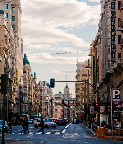 MODBRAND TRAVEL: Один день в Мадриде
